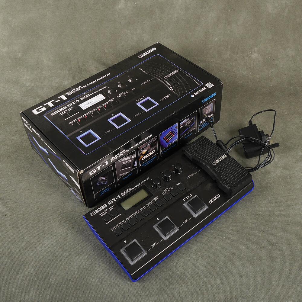 Boss GT-1 Guitar Effects Processor w/Box & PSU - 2nd Hand