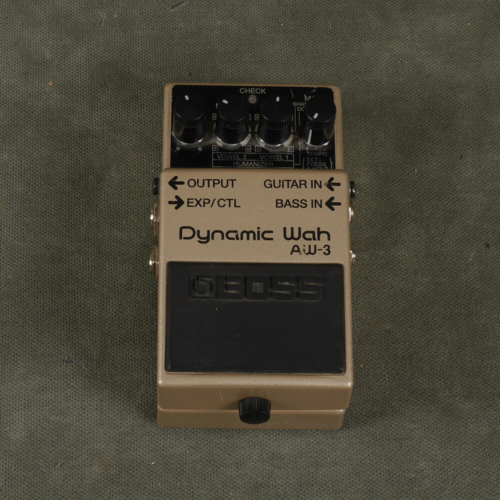 Boss AW-3 Dynamic Wah FX Pedal - 2nd Hand