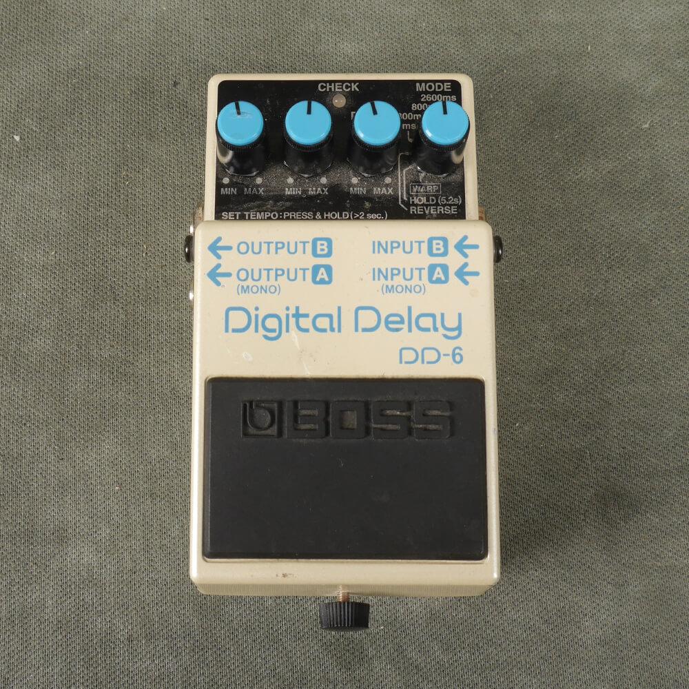 Boss DD-6 Digital Delay FX Pedal - 2nd Hand