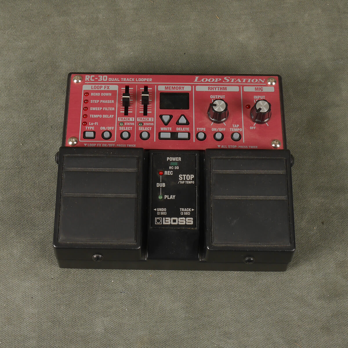 Boss RC30 Loop Station FX Pedal - 2nd Hand