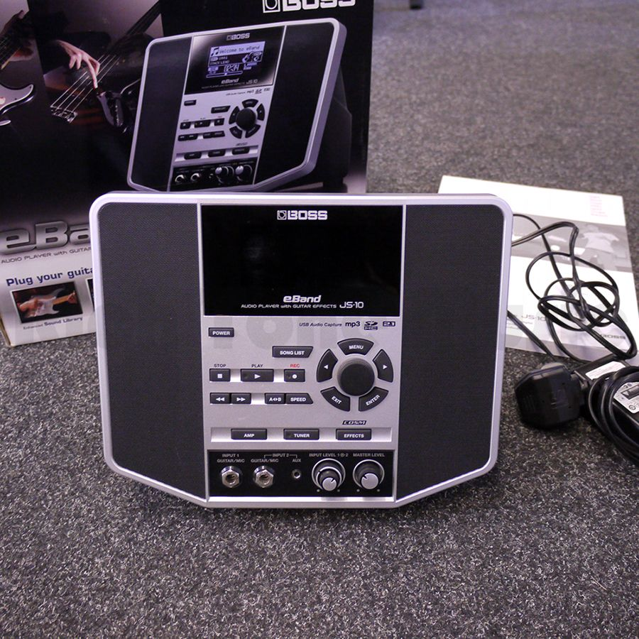 Boss eBand JS-10 Audio Player with Guitar Effects w/ Box - 2nd Hand