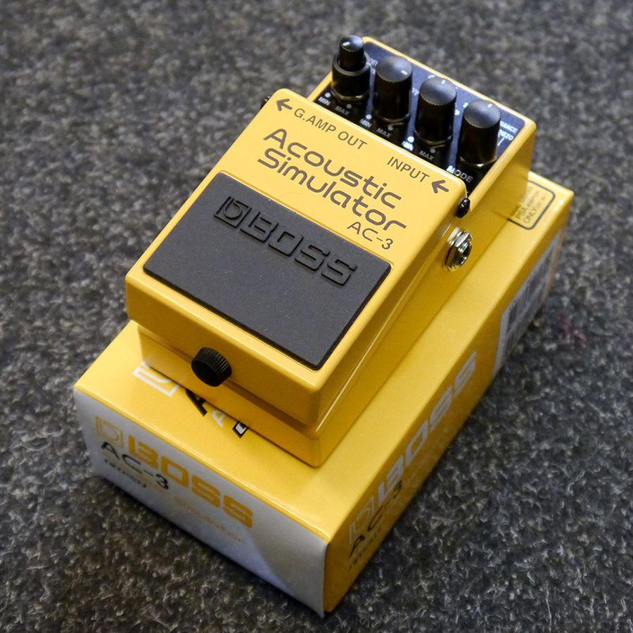 Boss AC-3 Acoustic Simulator FX Pedal w/ Box - 2nd Hand
