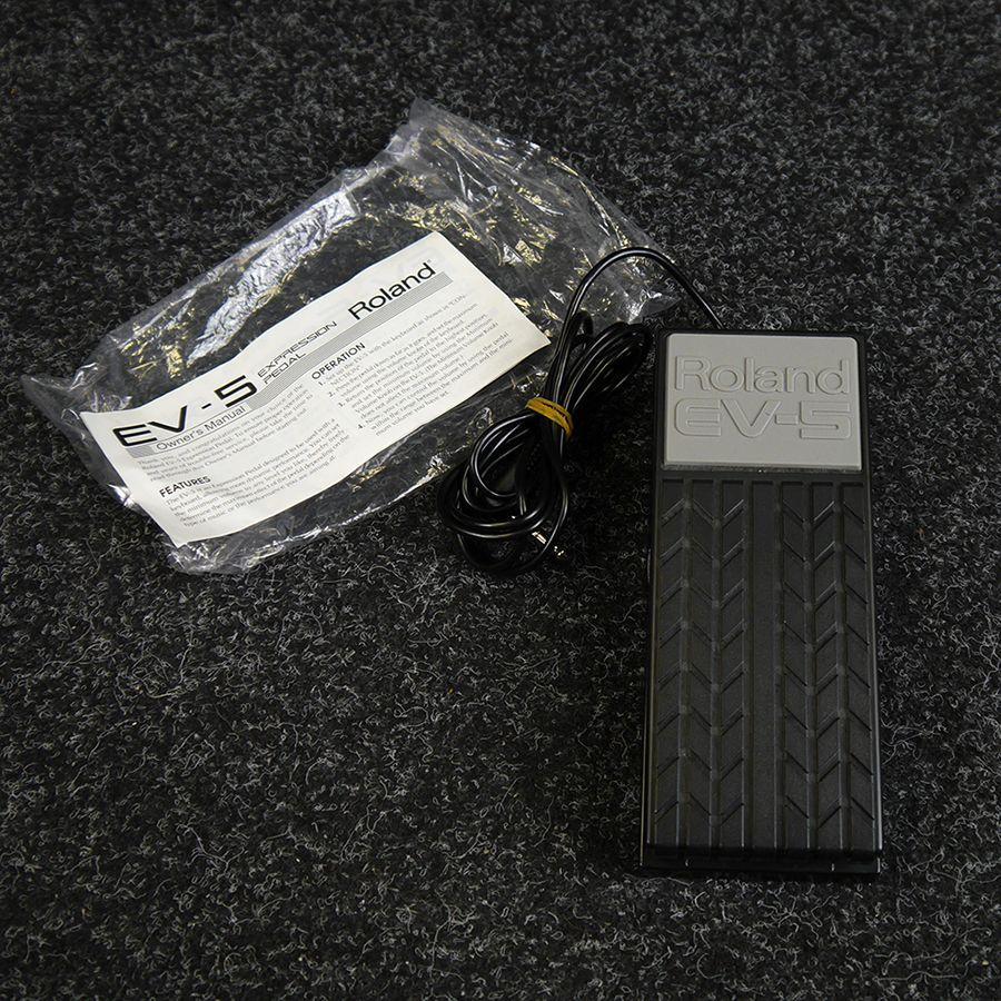 roland ev 5 expression pedal 2nd hand rich tone music. Black Bedroom Furniture Sets. Home Design Ideas