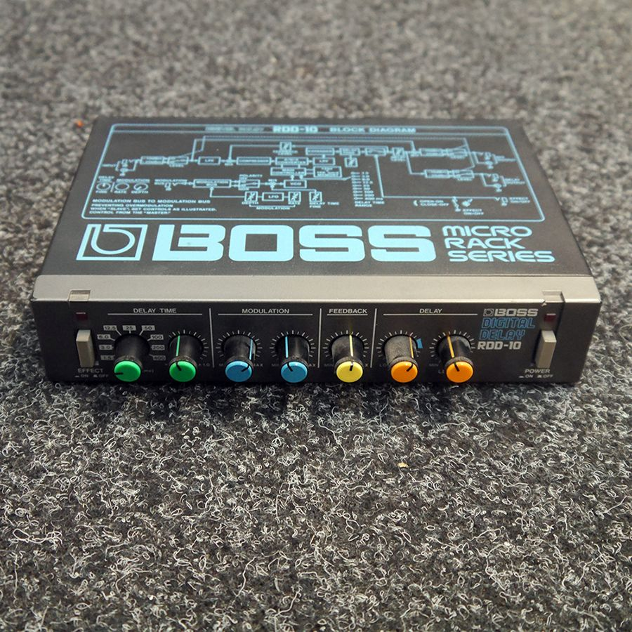 Boss RDD-10 Digital Delay Micro Rack - 2nd Hand