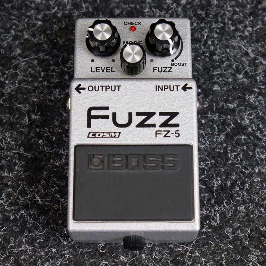 boss fz 5 fuzz fx pedal 2nd hand rich tone music. Black Bedroom Furniture Sets. Home Design Ideas