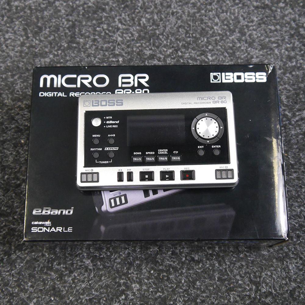 Boss Micro BR80 Digital Recorder w/ Box - 2nd Hand