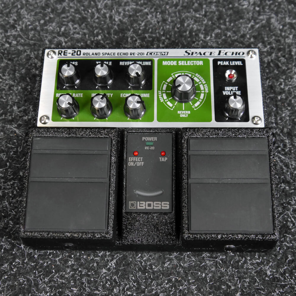 Boss RE-20 Space Echo FX Pedal - 2nd Hand