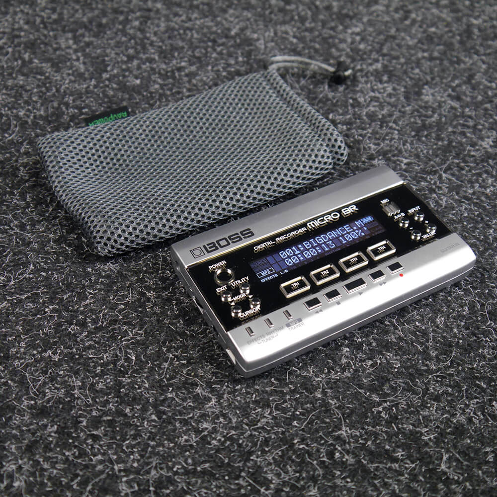 Boss Micro BR Digital Recorder w/Bag - 2nd Hand