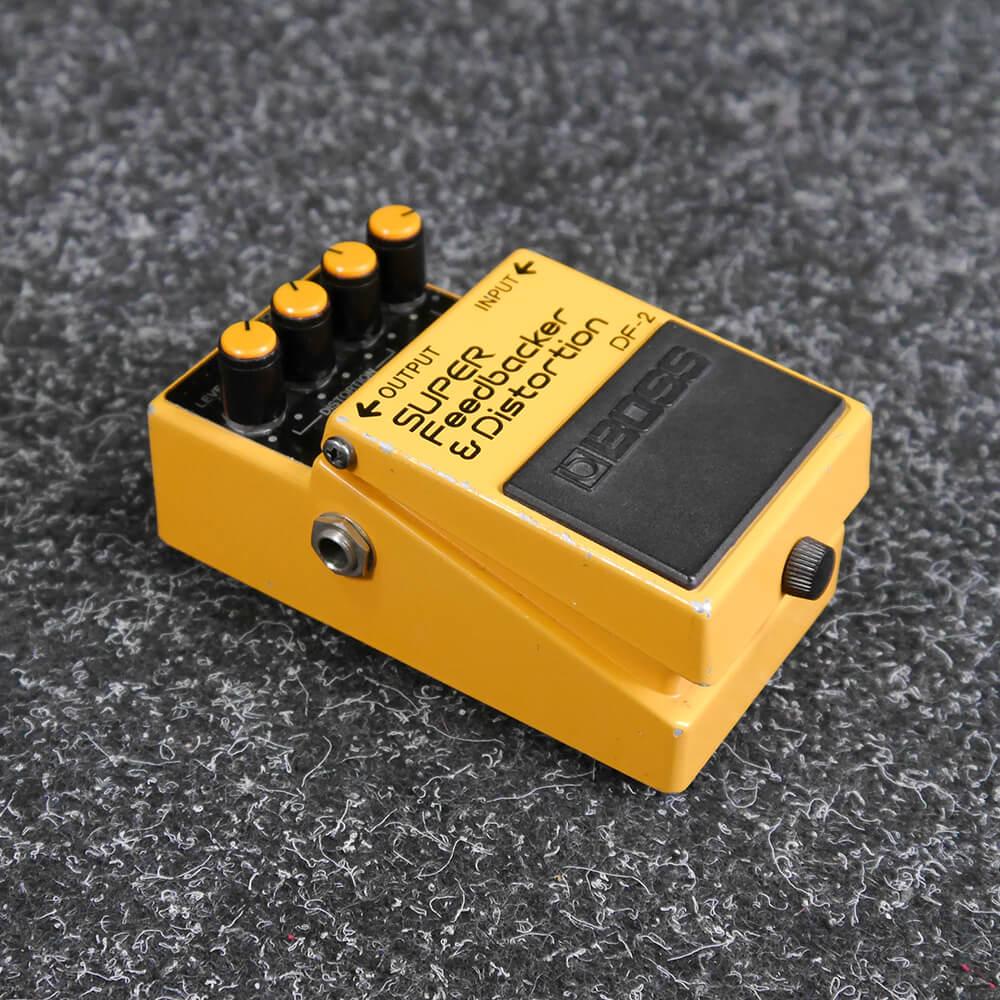 Boss DF-2 SUPER Feedbacker & Distortion FX Pedal - 2nd Hand