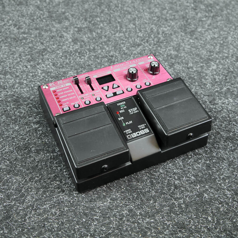 Fx Loop Pedal : boss rc 30 loop station dual track looper fx pedal 2nd hand rich tone music ~ Russianpoet.info Haus und Dekorationen
