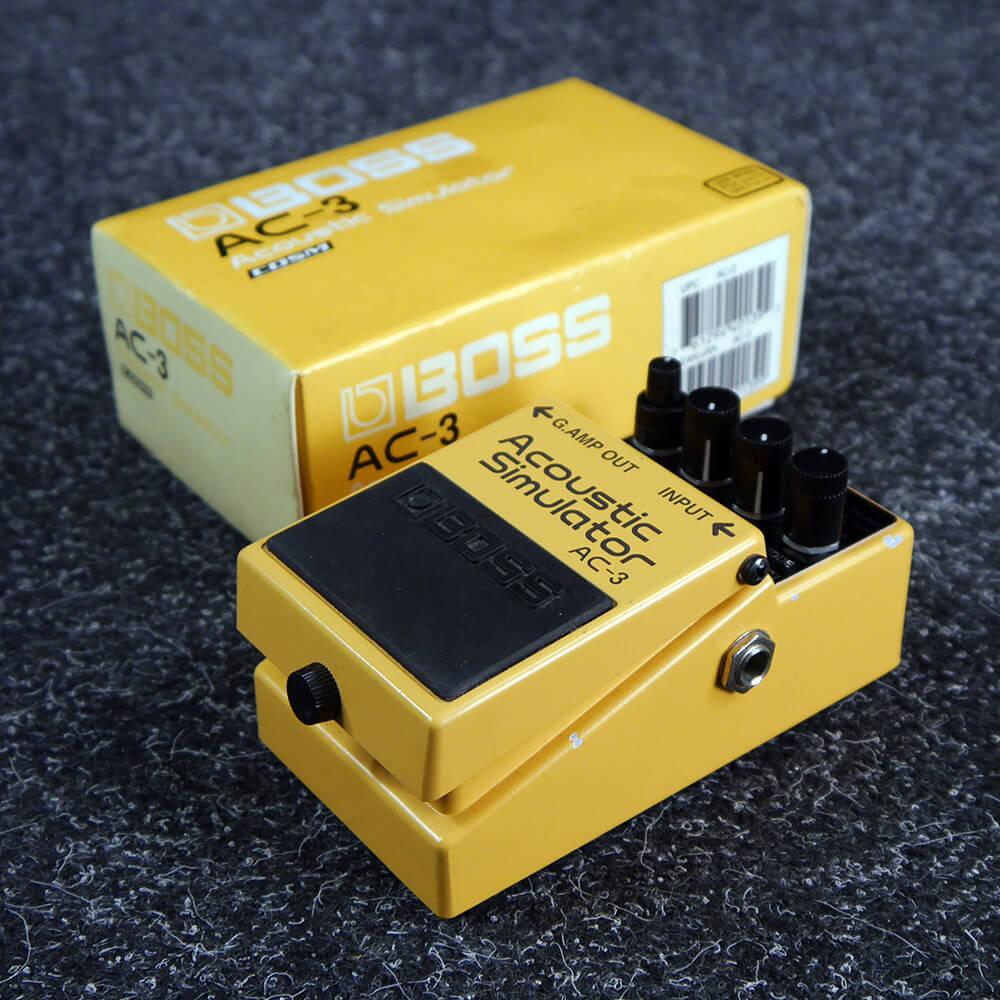 Boss AC-3 Acoustic Simulator FX Pedal w/Box - 2nd Hand