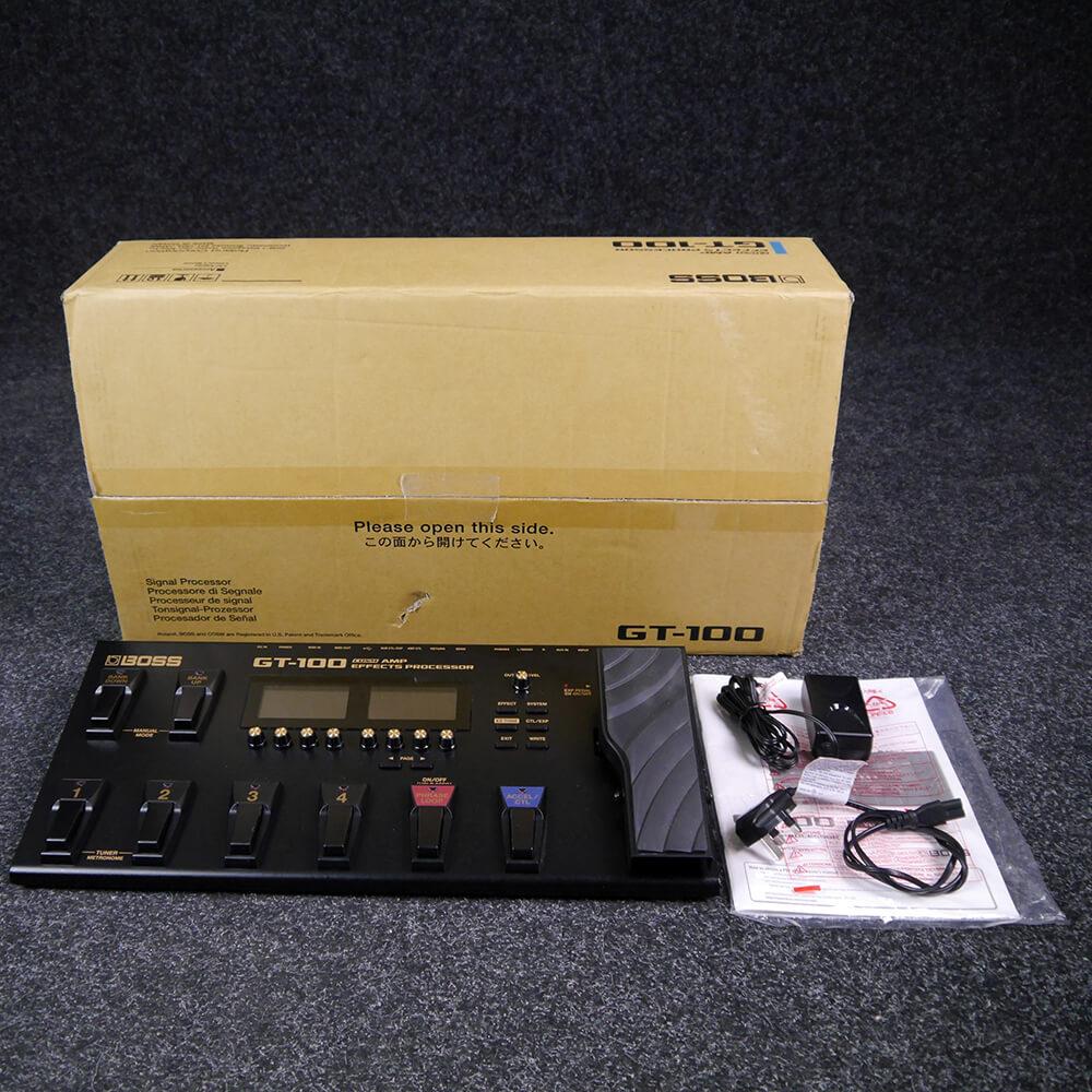 Boss GT-100 Guitar FX Processor w/Box & PSU - 2nd Hand