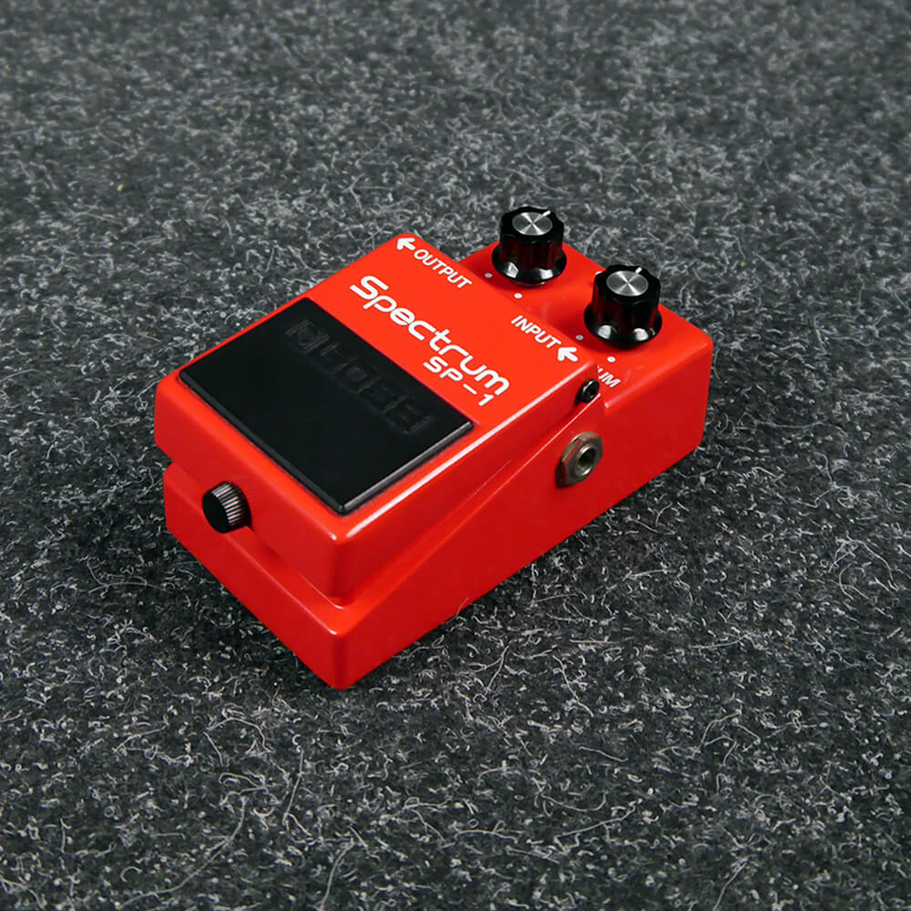 boss 1981 mij sp 1 spectrum enhancer fx pedal 2nd hand rich tone music. Black Bedroom Furniture Sets. Home Design Ideas
