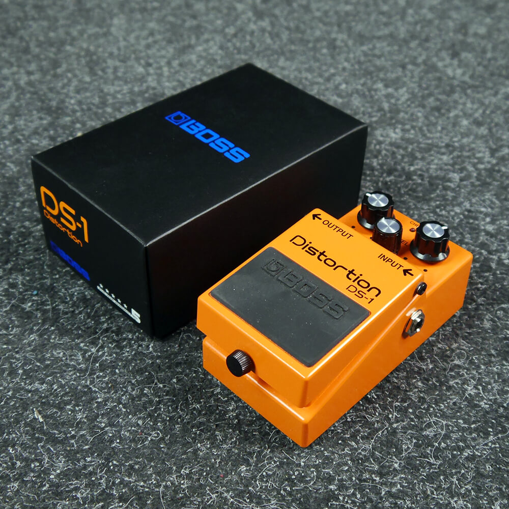 boss ds 1 distortion fx pedal w box 2nd hand rich tone music. Black Bedroom Furniture Sets. Home Design Ideas