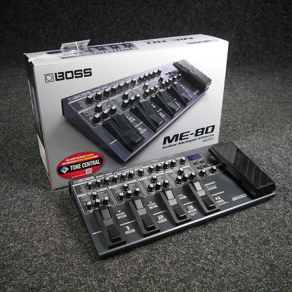 Boss ME-80 Guitar Multiple Effects Unit w/Box - 2nd Hand