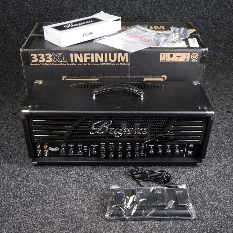 bugera 333xl infinium guitar amp head w box 2nd hand rich tone music. Black Bedroom Furniture Sets. Home Design Ideas