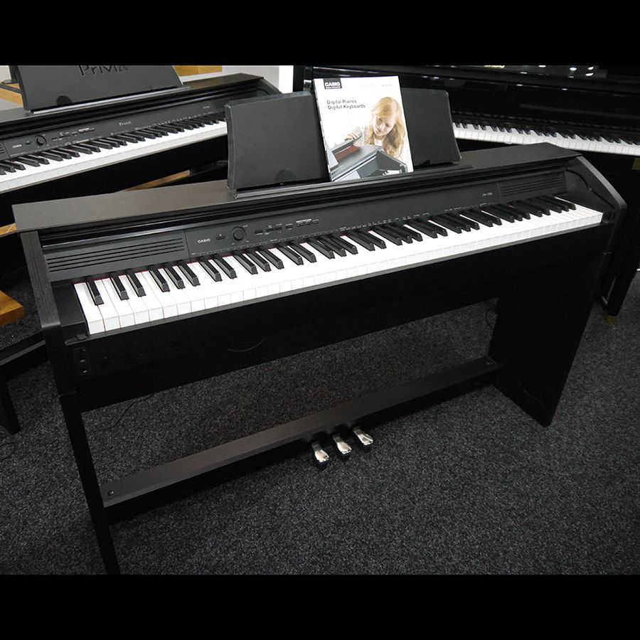 casio privia px 750 digital piano 2nd hand rich tone music. Black Bedroom Furniture Sets. Home Design Ideas