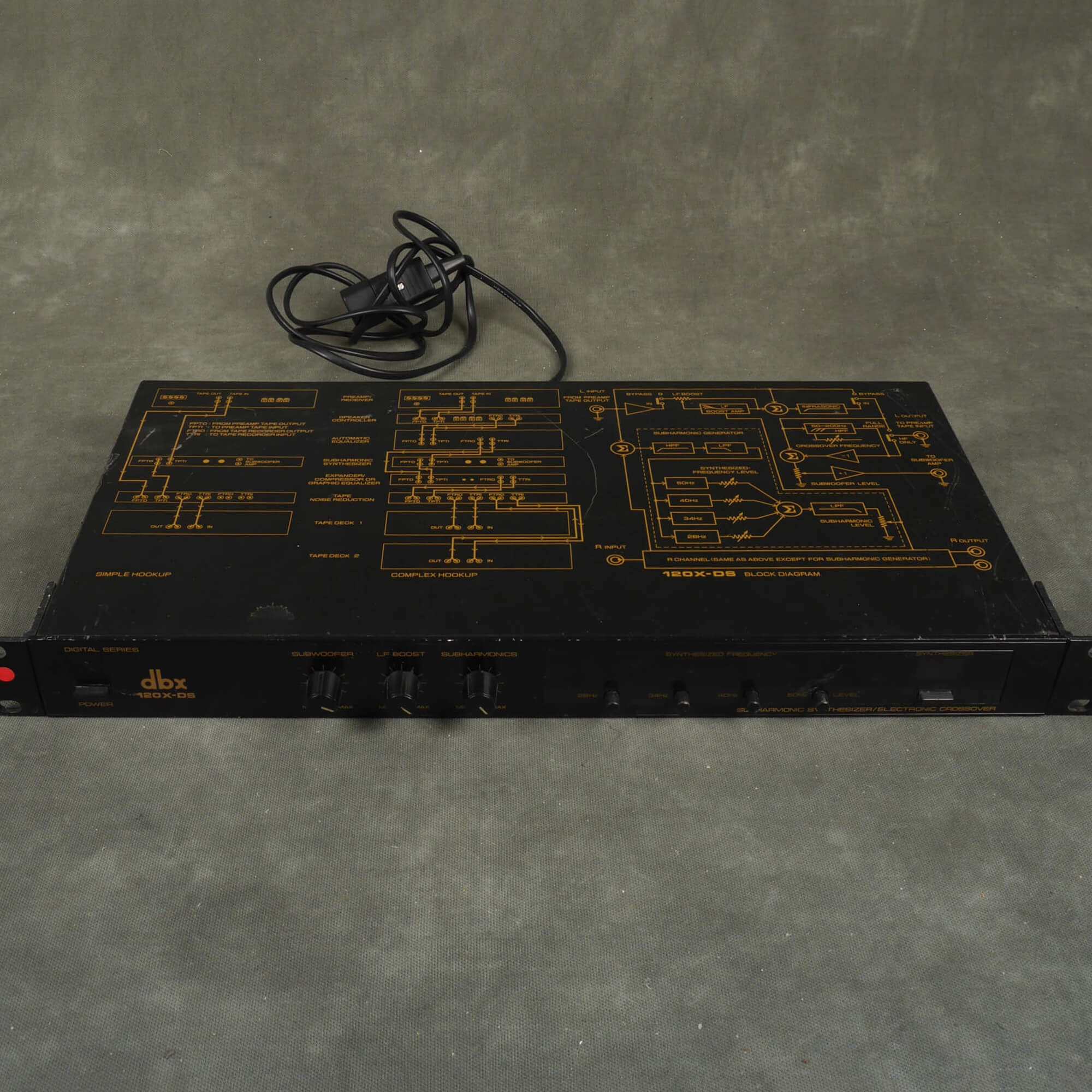 DBX 120X-DS Sub Harmonic Synthersiser Module - 2nd Hand