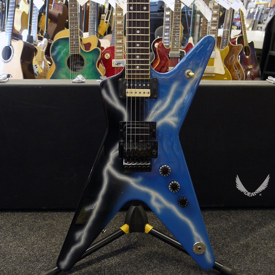 dean dime from hell electric guitar w hard case 2nd hand rich tone music. Black Bedroom Furniture Sets. Home Design Ideas