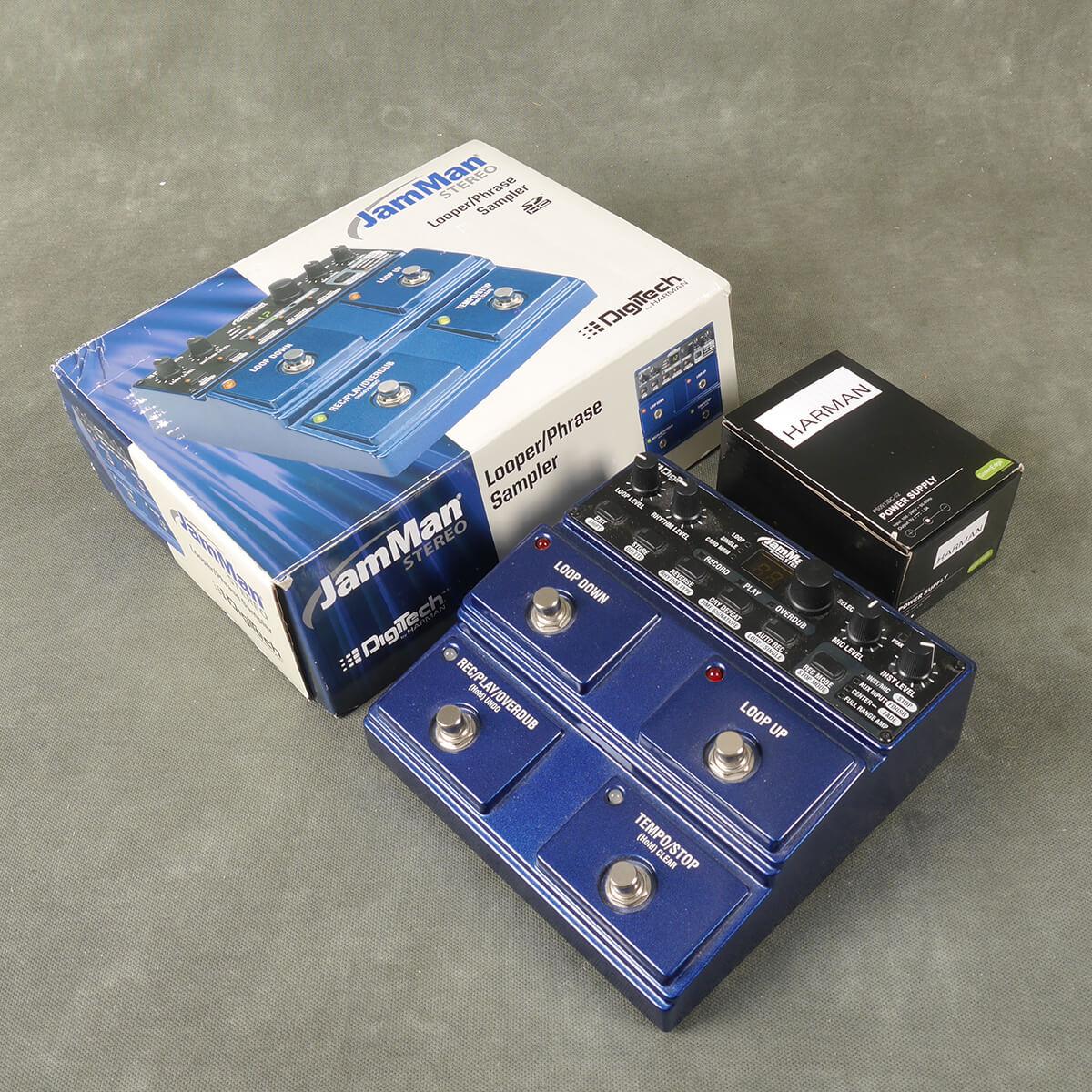Digitech JamMan Stereo Looper FX Processor w/Box & PSU - 2nd Hand