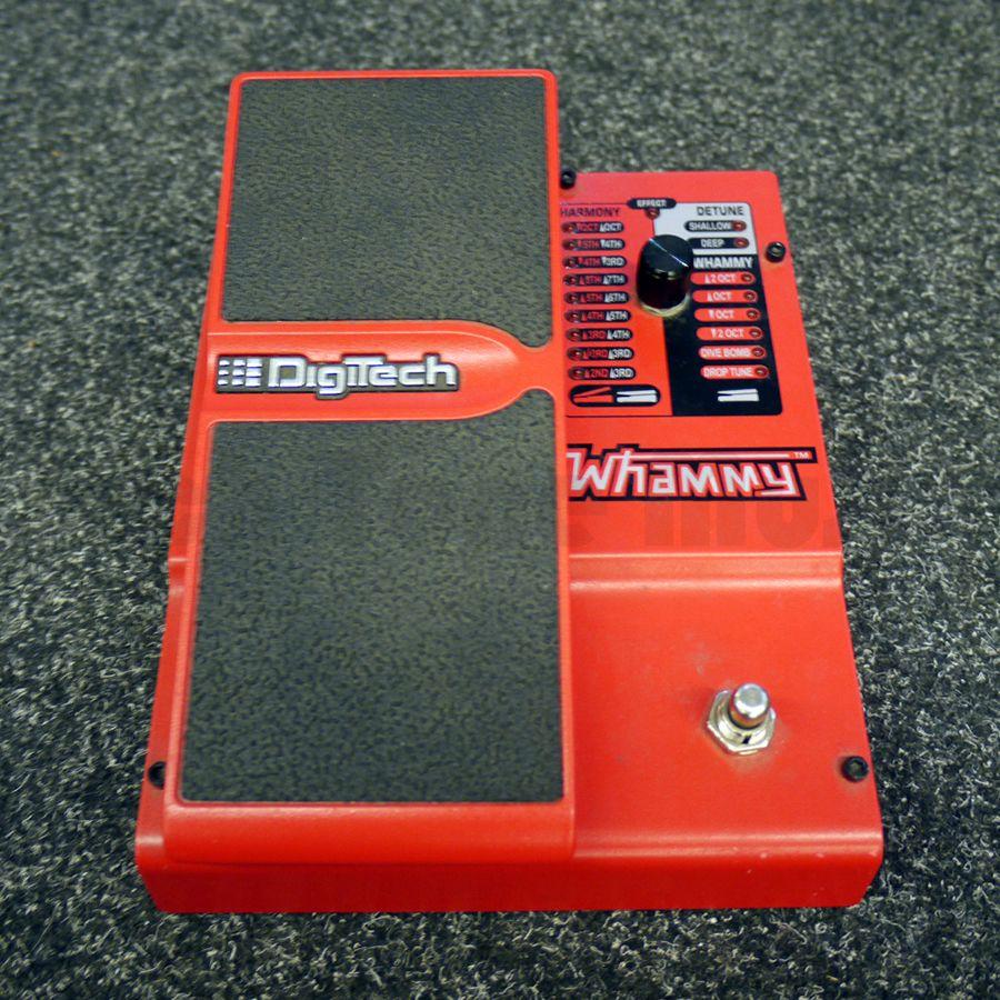 digitech whammy 4th gen fx pedal 2nd hand rich tone music. Black Bedroom Furniture Sets. Home Design Ideas