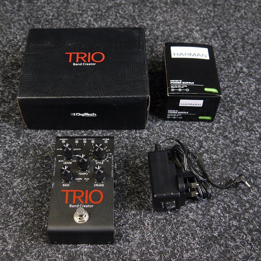 digitech trio fx pedal w box psu 2nd hand rich tone music. Black Bedroom Furniture Sets. Home Design Ideas