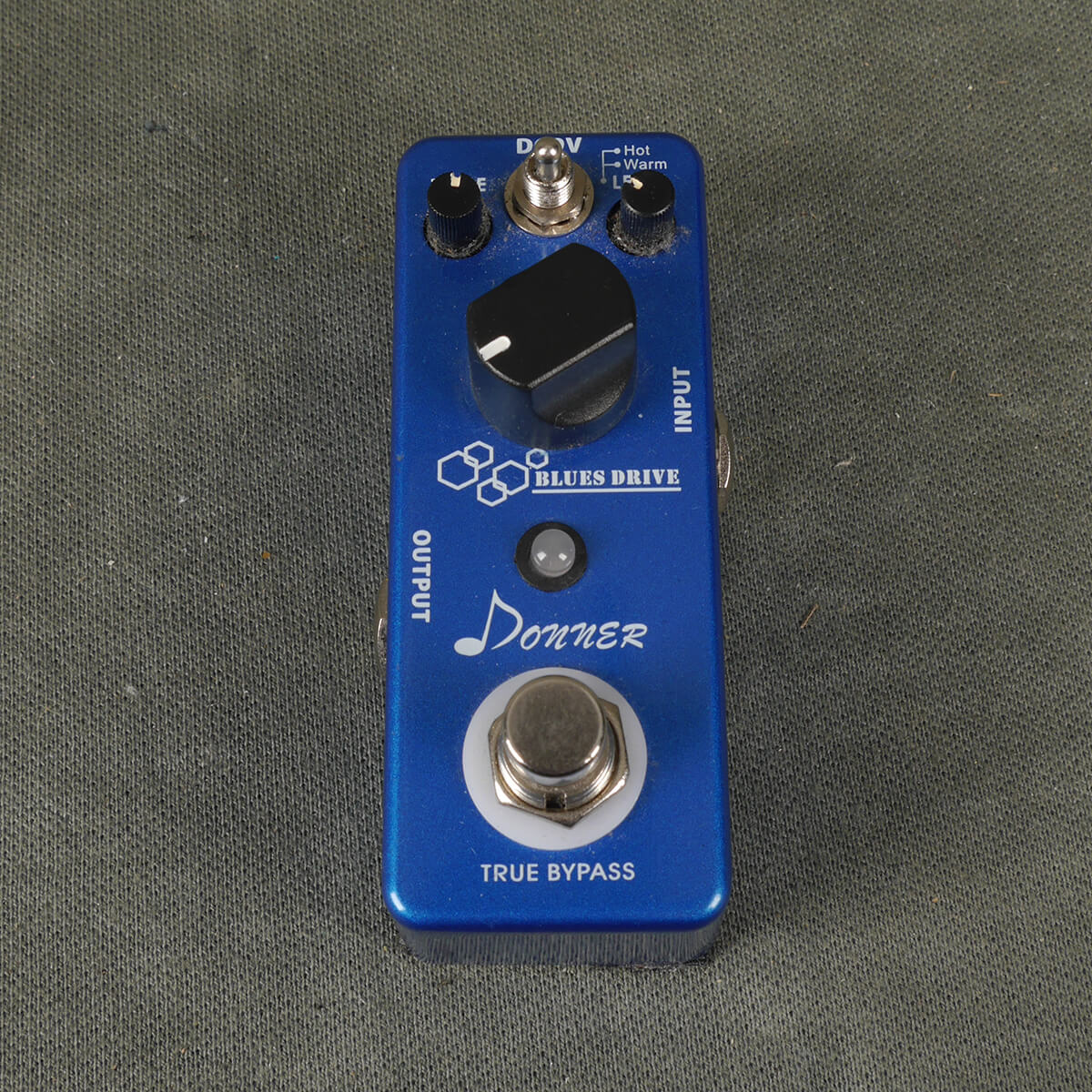 Donner Blues Drive FX Pedal - 2nd Hand