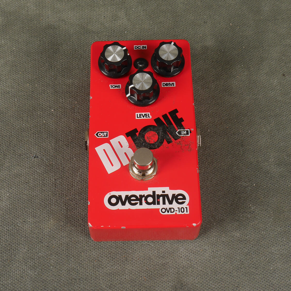 Dr Tone OVD101 Overdrive FX Pedal - 2nd Hand