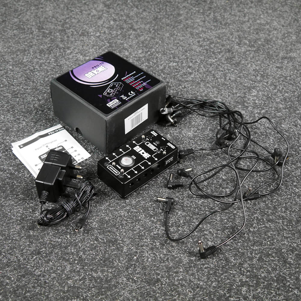 Dr Tone PSU-10 Pedal Power Supply w/Box & PSU - 2nd Hand