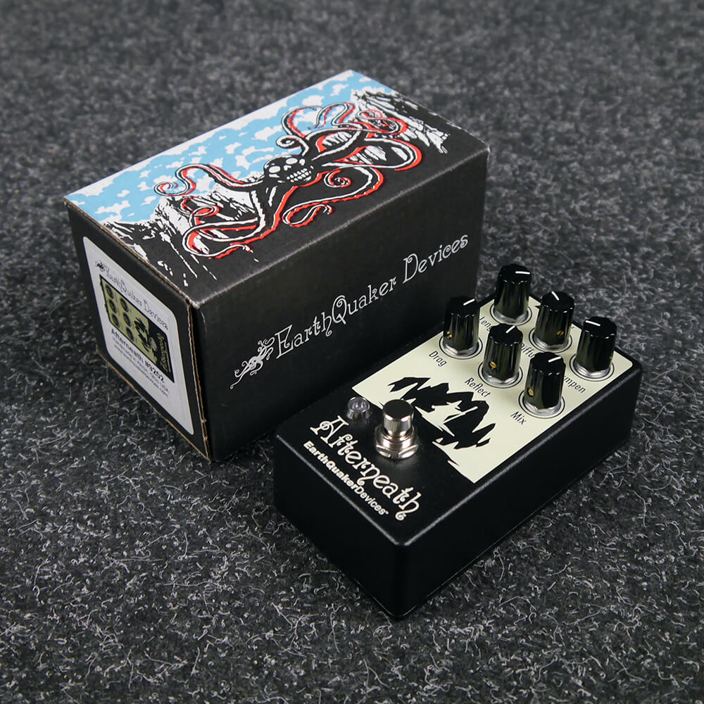 Earthquaker Devices Afterneath Reverb FX Pedal w/Box - 2nd Hand