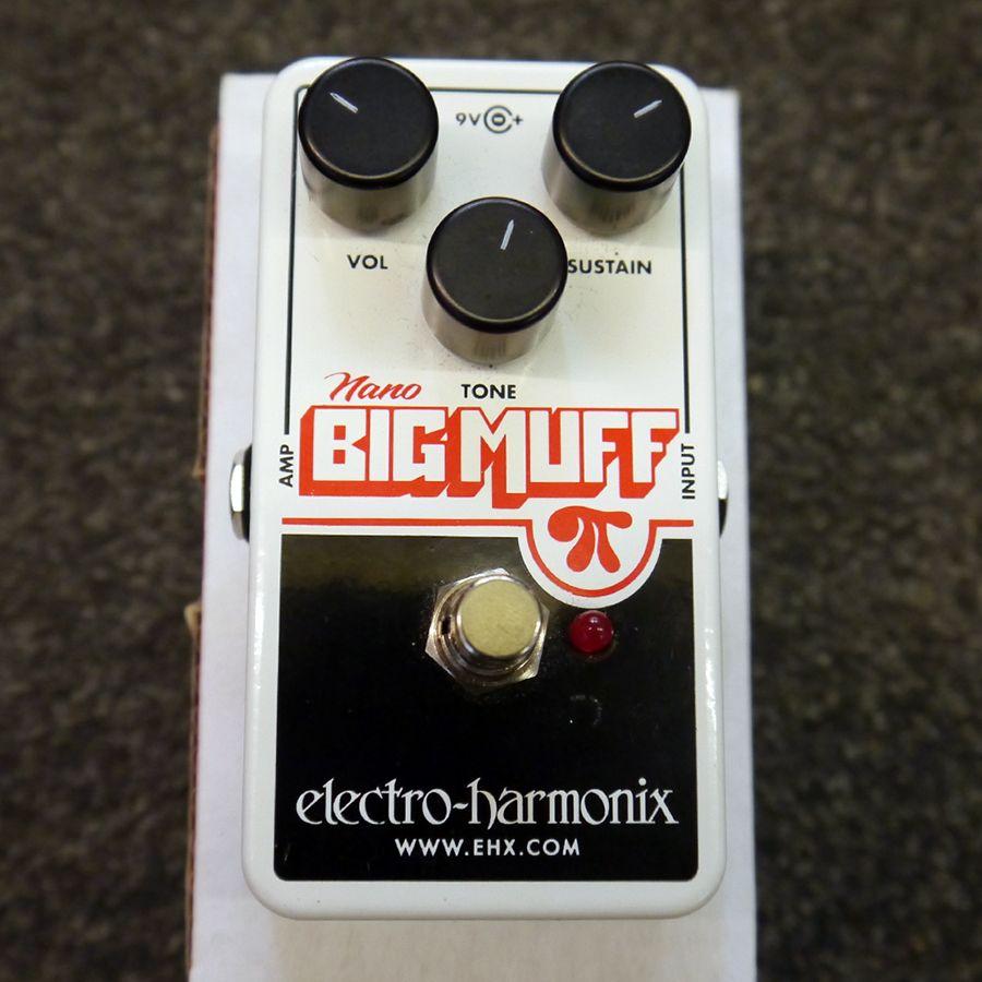 electro harmonix nano big muff pi fx pedal w box 2nd hand rich tone music. Black Bedroom Furniture Sets. Home Design Ideas