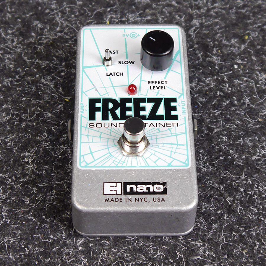 ehx nano freeze sound retainer fx pedal 2nd hand rich tone music. Black Bedroom Furniture Sets. Home Design Ideas
