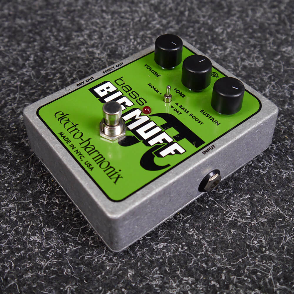 Electro Harmonix Bass Big Muff Pi Distortion Fx Pedal 2nd Hand Effect