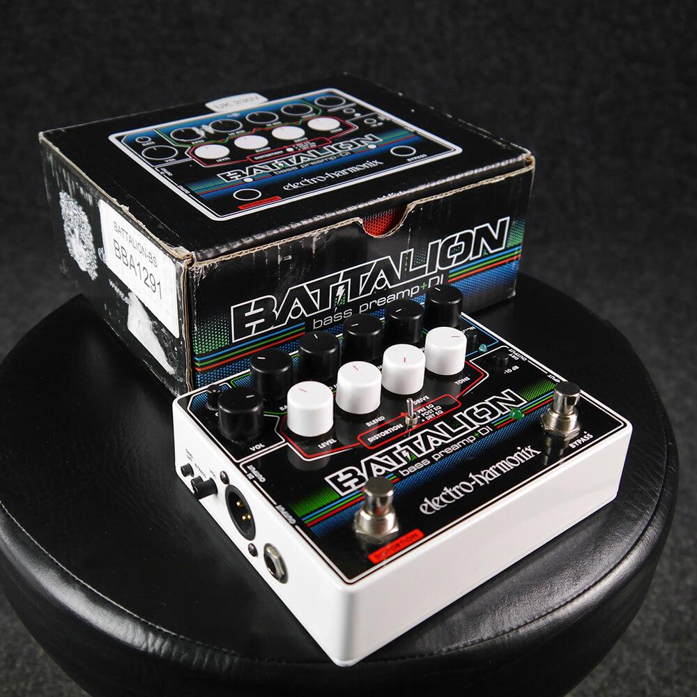 Electro-Harmonix Battalion Bass Preamp and DI w/Box - 2nd Hand