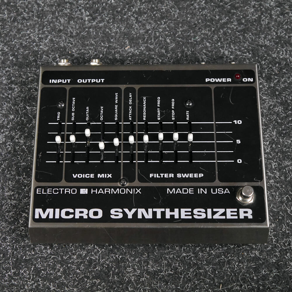 Electro Harmonix Micro Synthesizer FX Pedal, USA Made - 2nd Hand