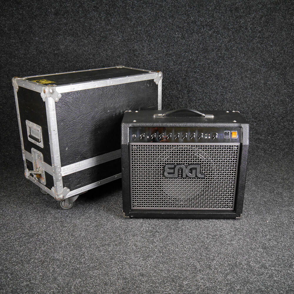 Engl Screamer 50 Guitar Combo w/Flight Case - 2nd Hand **COLLECTION ONLY**