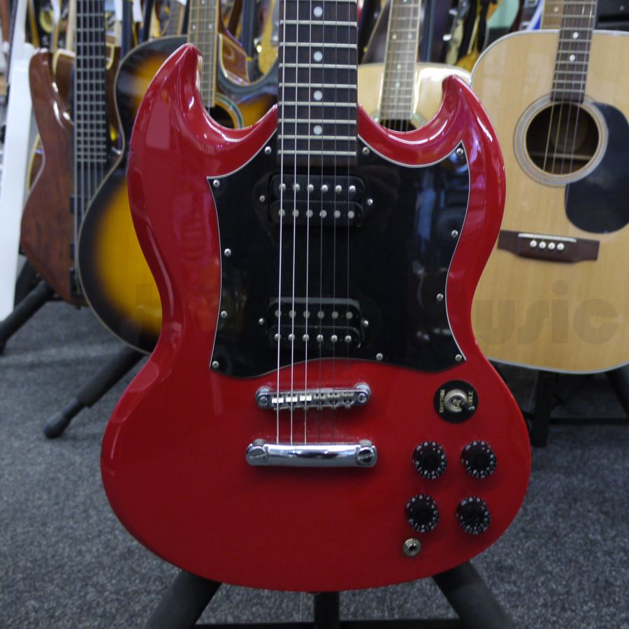 epiphone sg g310 red electric guitar 2nd hand rich tone music. Black Bedroom Furniture Sets. Home Design Ideas
