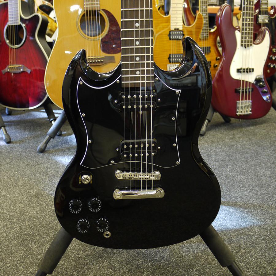 epiphone g310 sg left hand electric guitar 2nd hand rich tone music. Black Bedroom Furniture Sets. Home Design Ideas