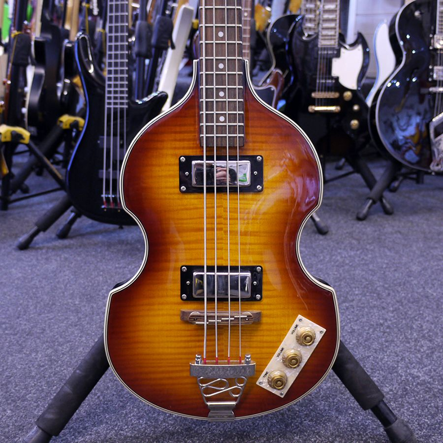 epiphone viola bass vintage sunburst 2nd hand rich tone music. Black Bedroom Furniture Sets. Home Design Ideas