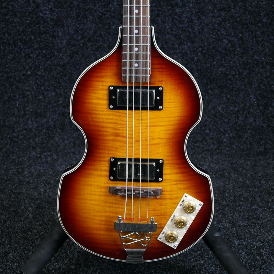 epiphone viola bass guitar sunburst 2nd hand rich tone music. Black Bedroom Furniture Sets. Home Design Ideas