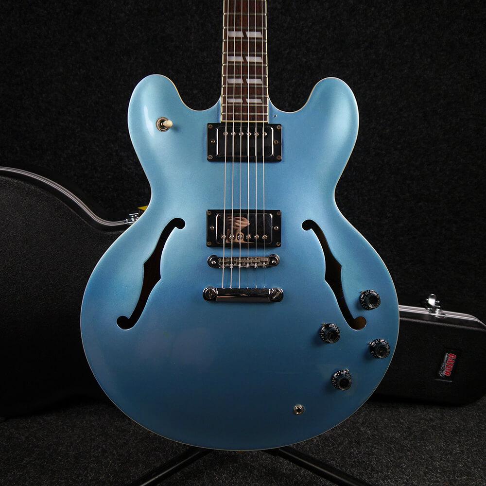 epiphone supernova es 335 pelham blue w hard case 2nd hand rich tone music. Black Bedroom Furniture Sets. Home Design Ideas