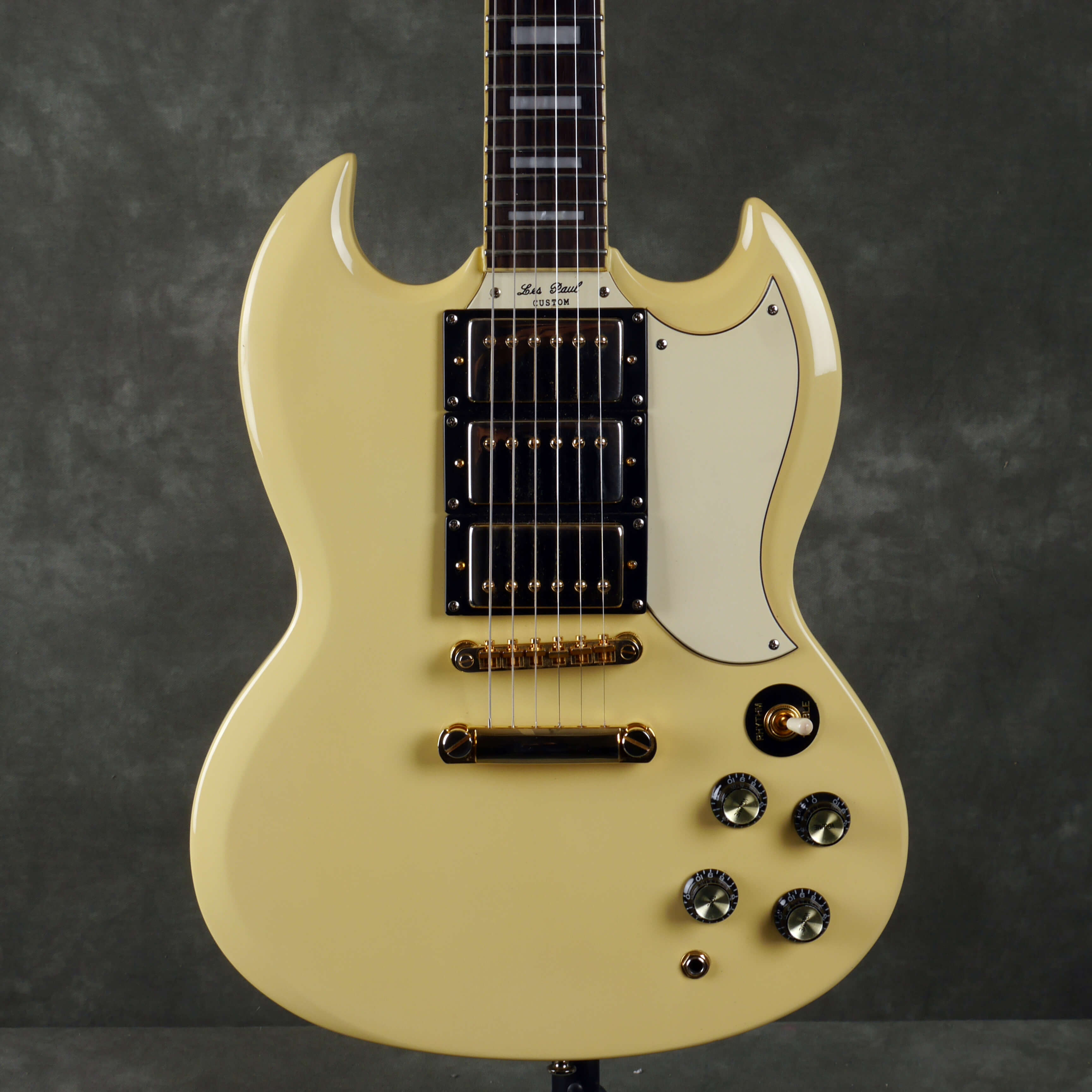 Epiphone G-400 Custom 3-Pickup Electric Guitar - Antique Ivory - 2nd Hand