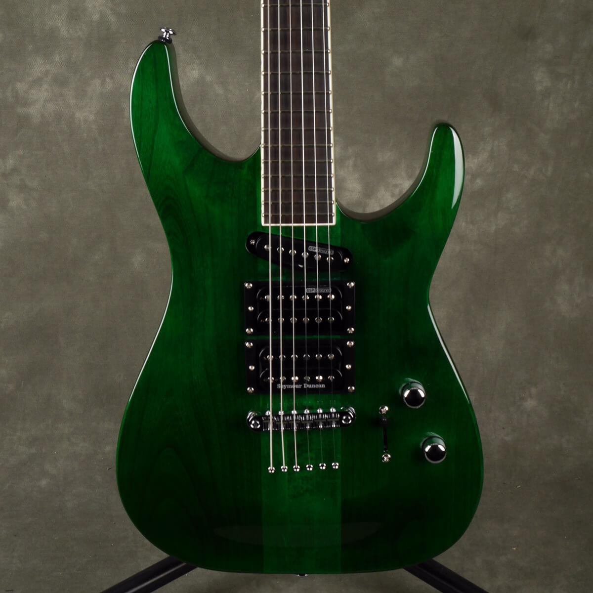 ESP LTD SC-20 STG Stephen Carpenter Signature - See-Thru Green - 2nd Hand