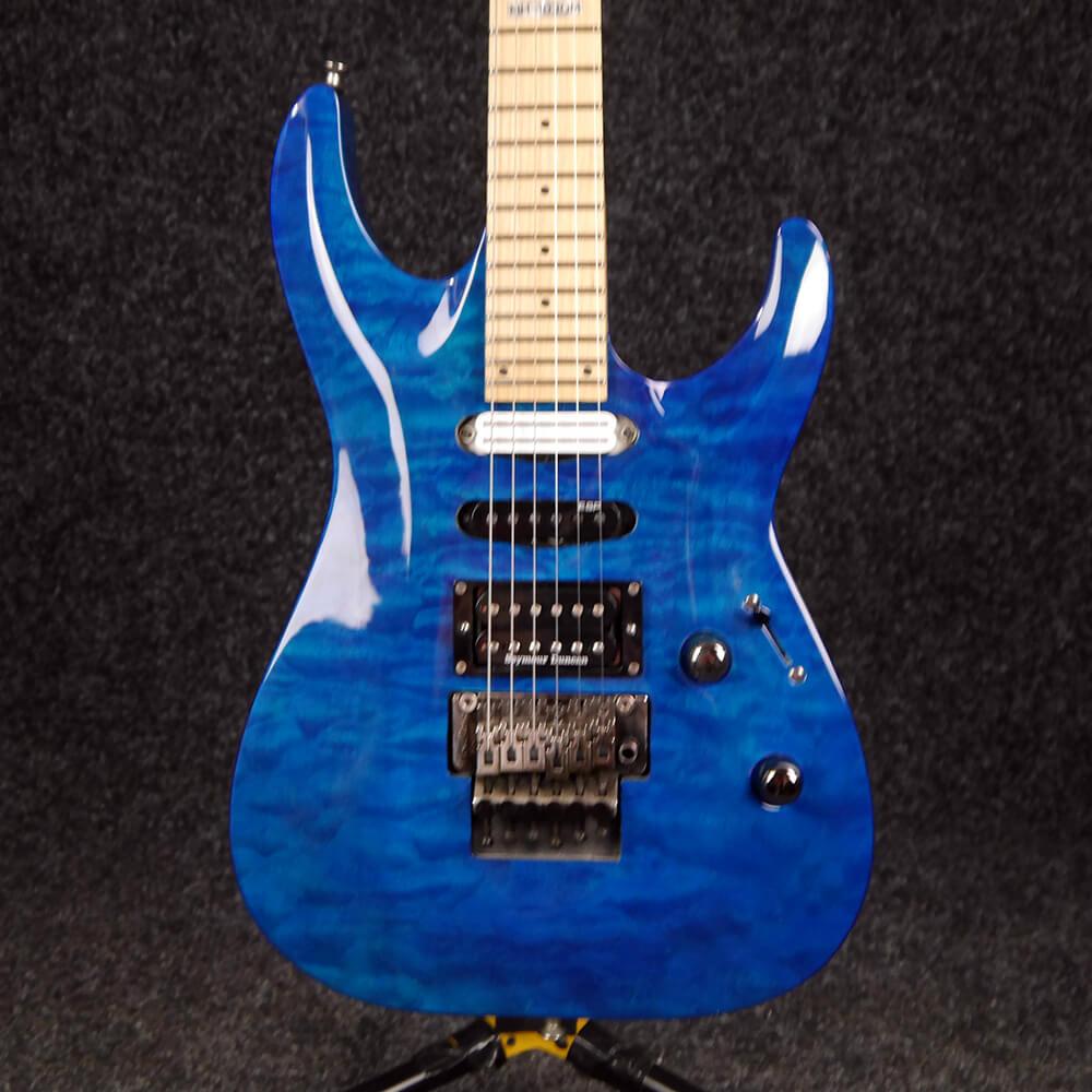 ESP LTD MH-103QM Electric Guitar - See Thru Blue - 2nd Hand