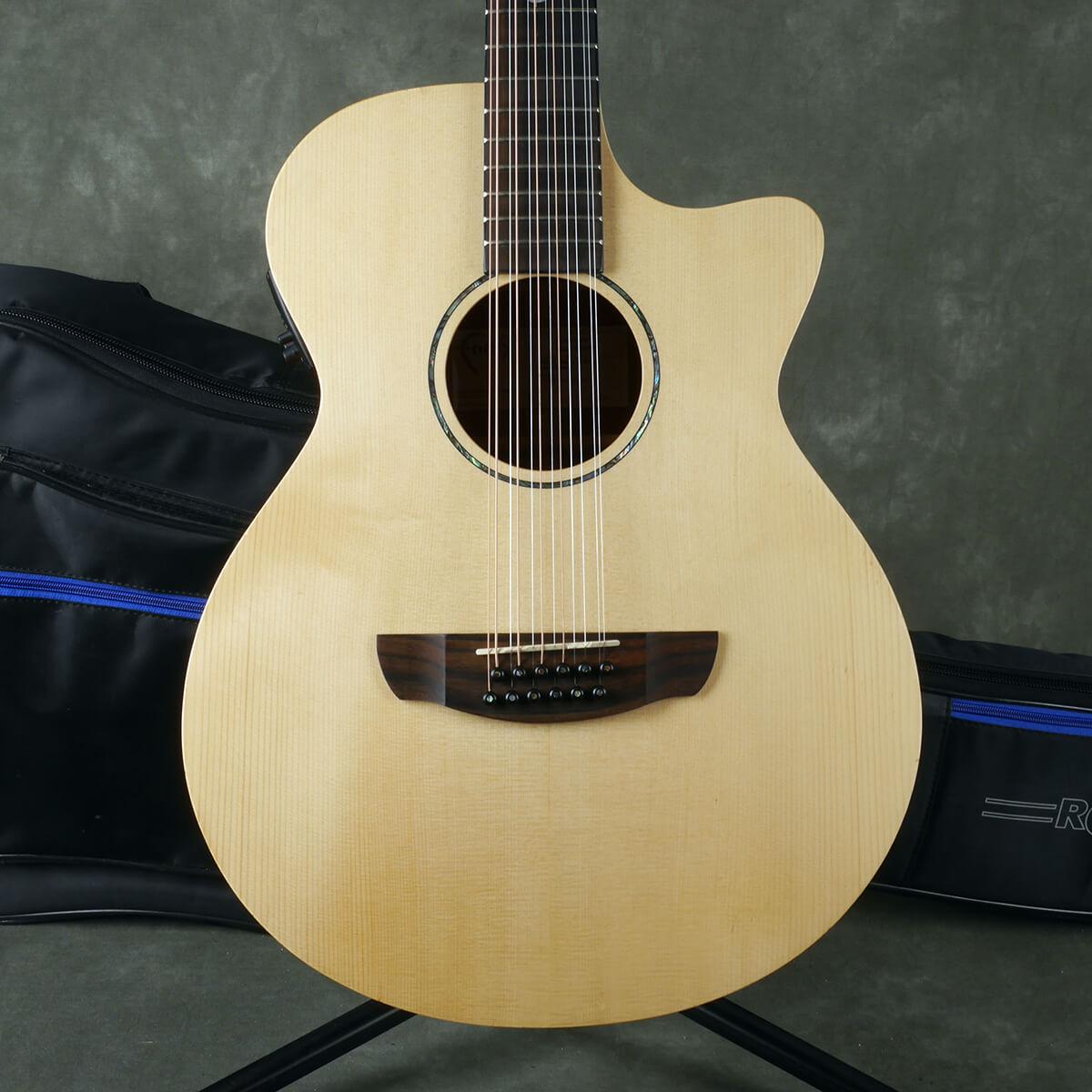 Faith Naked Venus FKV 12-String Electro-Acoustic - Natural w/Gig Bag - 2nd Hand