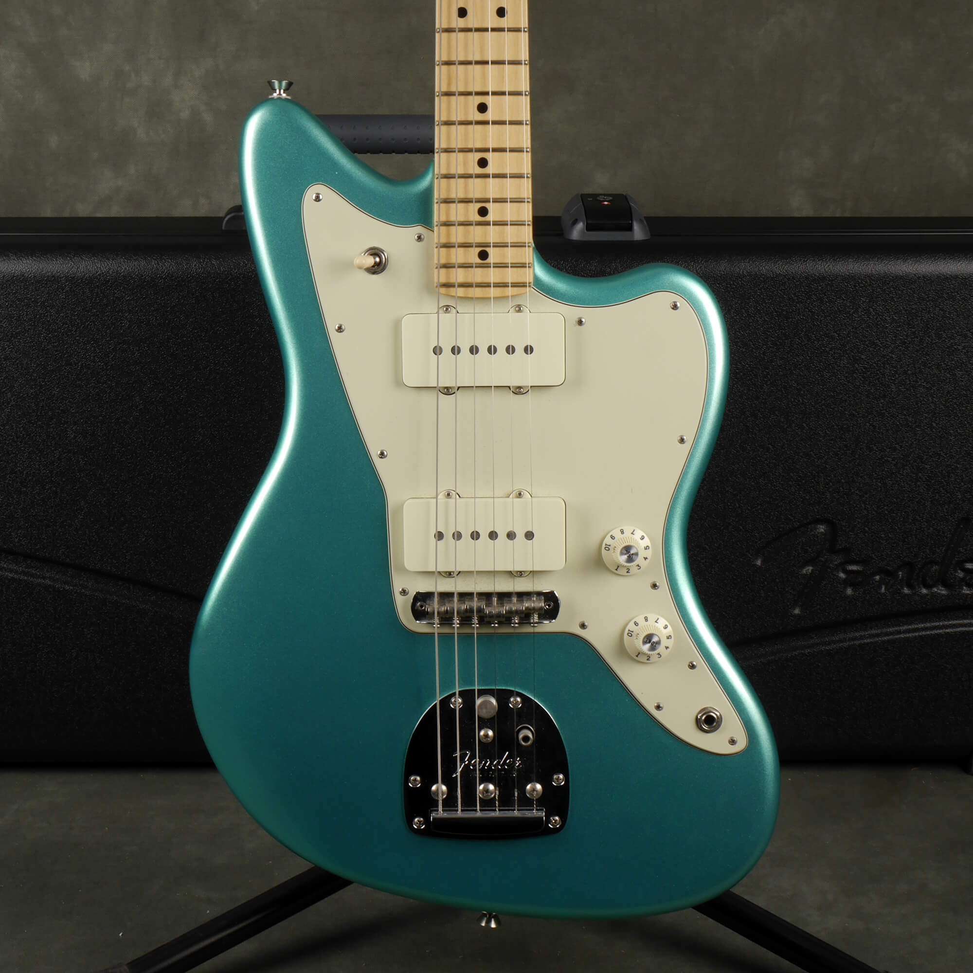 Fender American Professional Jazzmaster - Mystic Seafoam w/Hard Case - 2nd Hand