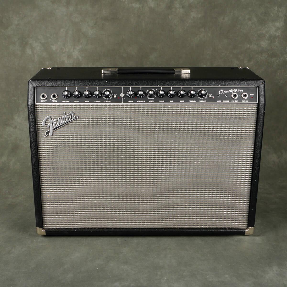 Fender Champion 100 Guitar Combo Amplifier - 2nd Hand
