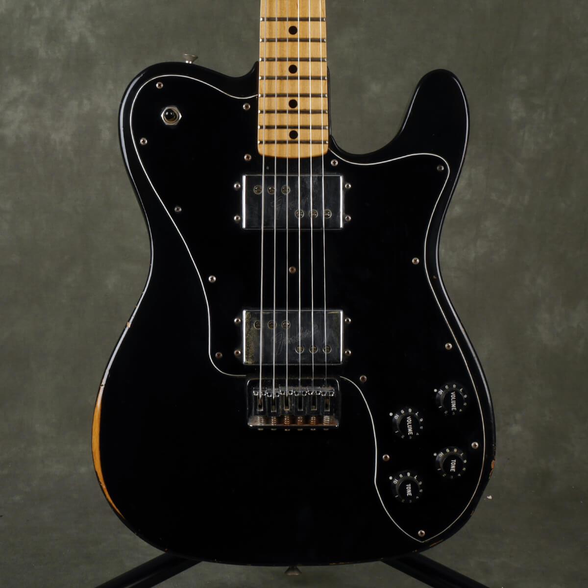 Fender 1978 Telecaster Deluxe - Black - 2nd Hand