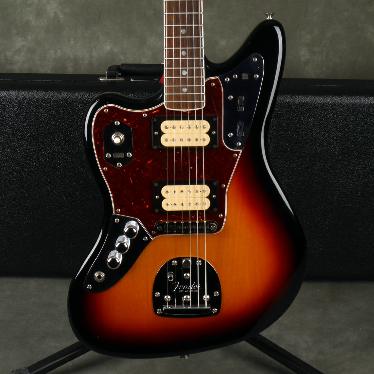 Fender Kurt Cobain Jaguar NOS - Left Handed - Sunburst w/Hard Case - 2nd Hand