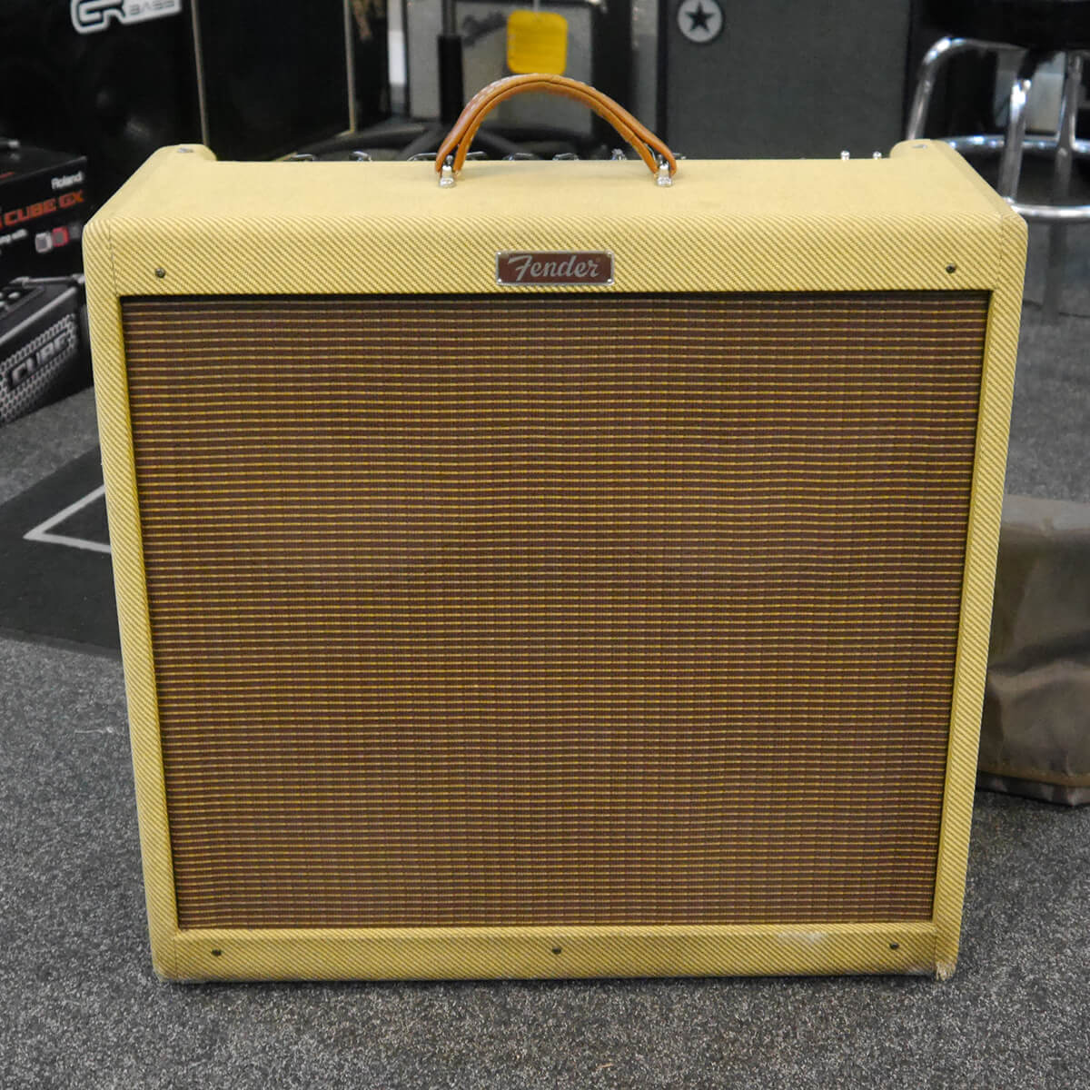 Fender Blues Deville 4x10 Combo w/Cover - 2nd Hand **COLLECTION ONLY**